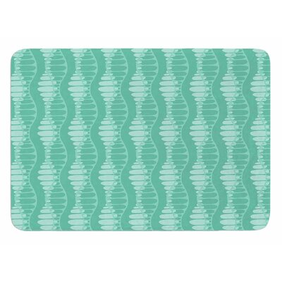 Mod Waves by Holly Helgeson Bath Mat