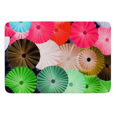 Parasol by Heidi Jennings Bath Mat Size: 24 W x 36 L