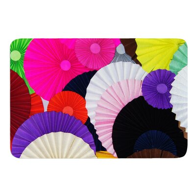 Madness by Heidi Jennings Bath Mat Size: 24 W x 36 L