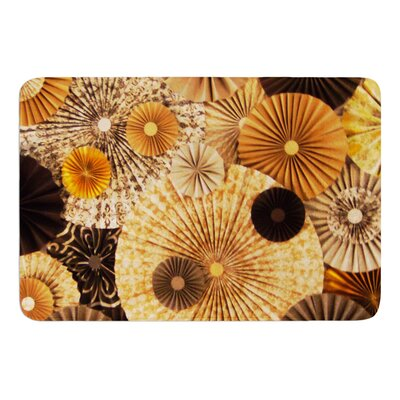 Grounded by Heidi Jennings Bath Mat Size: 17W x 24L