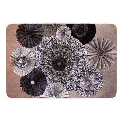 Shadows by Heidi Jennings Bath Mat Size: 17W x 24L