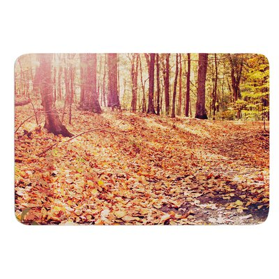 Autumn Hike by Jillian Audrey Bath Mat Size: 17w x 24L