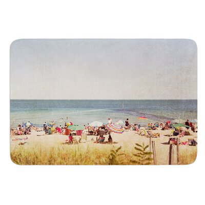 Summertime by Jillian Audrey Bath Mat Size: 17w x 24L