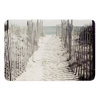 Welcome to the Beach by Jillian Audrey Bath Mat Size: 17w x 24L