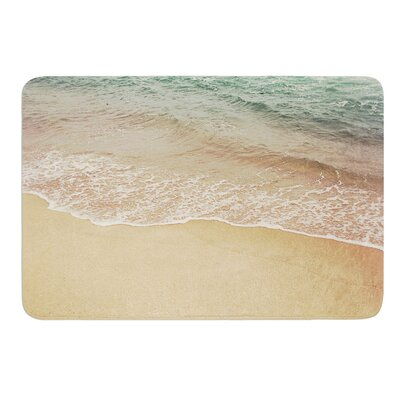 Waves Roll In by Jillian Audrey Bath Mat Size: 17w x 24L