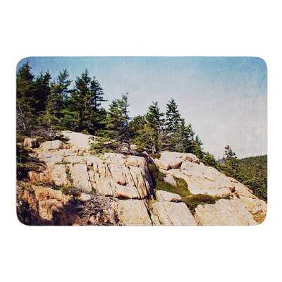 Windswept Cliffs by Jillian Audrey Bath Mat Size: 17w x 24L