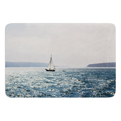 Sail the Sparking Seas by Jillian Audrey Bath Mat Size: 24 W x 36 L