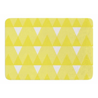 Triangles by Jackie Rose Bath Mat