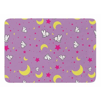 Goodnight Usagi by Jackie Rose Bath Mat