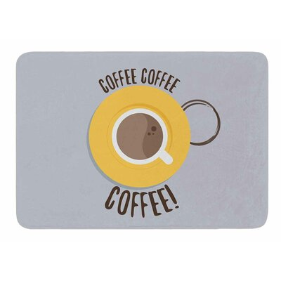 Coffee by Jackie Rose Bath Mat