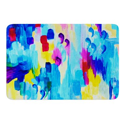 Dont Quote Me, Revisited by Ebi Emporium Bath Mat Size: 24 W x 36 L