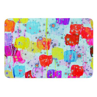 Speckle Me Dotty by Ebi Emporium Bath Mat Size: 24 W x 36 L