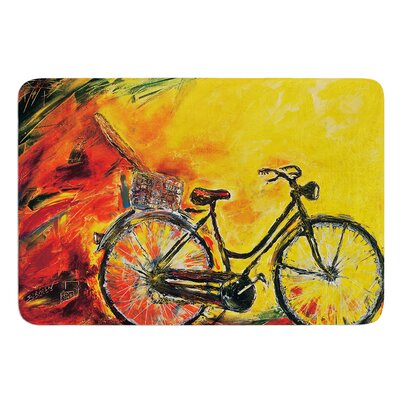 To Go by Josh Serafin Bath Mat Size: 17 W x 24 L