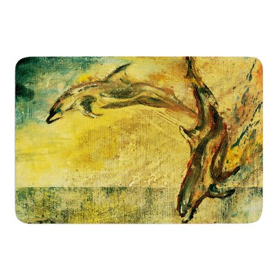 No Reason to Hide by Josh Serafin Bath Mat Size: 17 W x 24 L