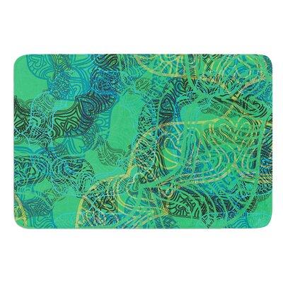 Mandala by Patternmuse Bath Mat Size: 24 W x 36 L