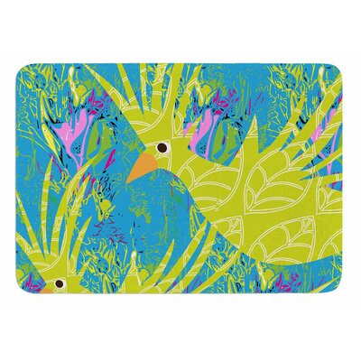 Tropical Fly-by by Patternmuse Bath Mat