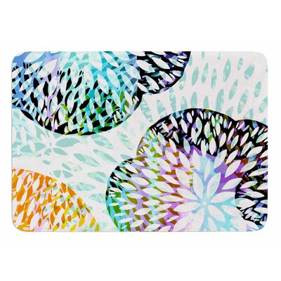 Tropical Flora by Jessica Wilde Bath Mat