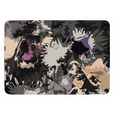 Punk Floral by Jessica Wilde Bath Mat