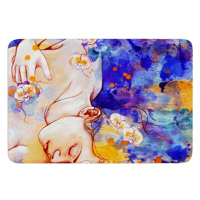 A Deeper Sleep by Kira Crees Bath Mat Size: 17 W x 24 L