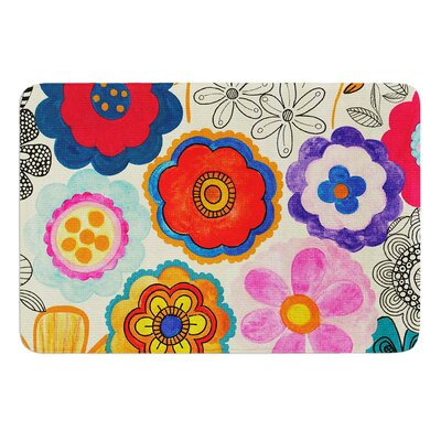 Charming Floral by Louise Machado Bath Mat
