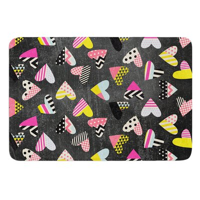 Pieces of Heart by Louise Machado Bath Mat