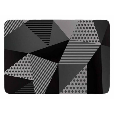 Gray Pallete by Louise Machado Bath Mat