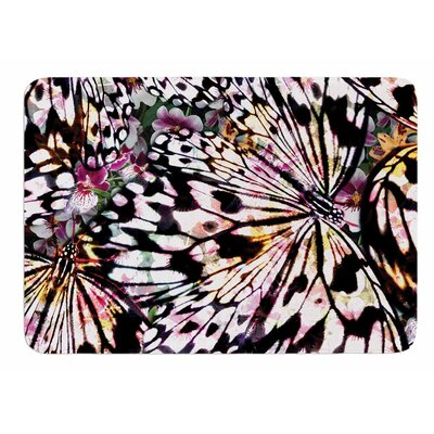 Butterfly Wings by Louise Machado Bath Mat