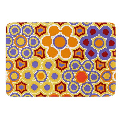 Flower Garden by Laura Nicholson Bath Mat