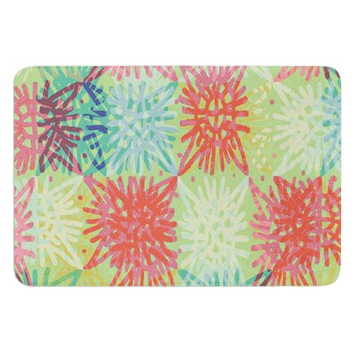 Multi Lacy by Laura Nicholson Bath Mat