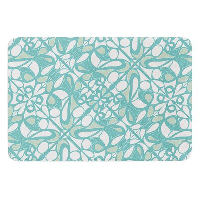 Swirling Tiles by Miranda Mol Bath Mat