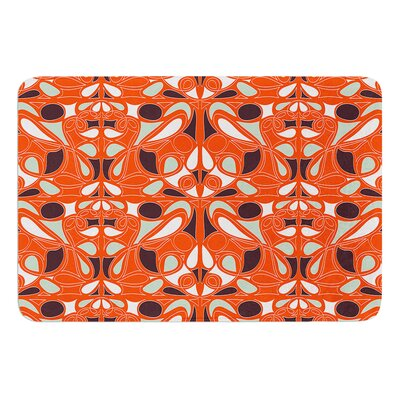 Swirl Kiss by Miranda Mol Bath Mat