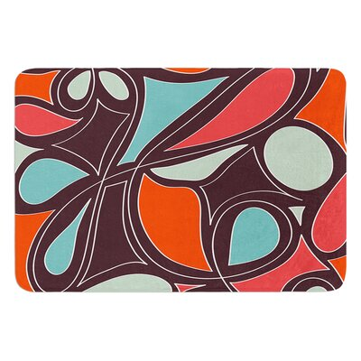 Retro Swirl by Miranda Mol Bath Mat