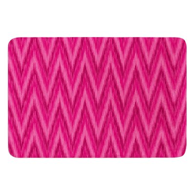 Chevron by Amanda Lane Bath Mat Size: 17W x 24L
