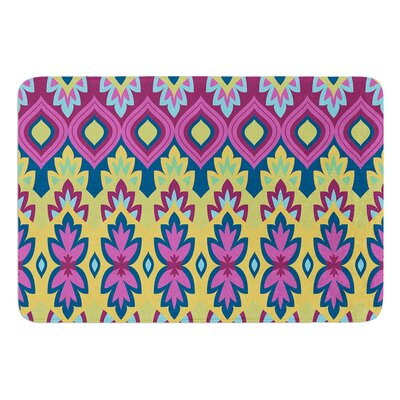 Boho Chic by Amanda Lane Bath Mat Size: 17W x 24L