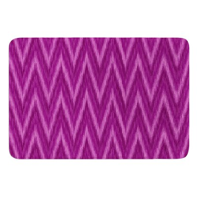Chevron by Amanda Lane Bath Mat Size: 24 W x 36 L