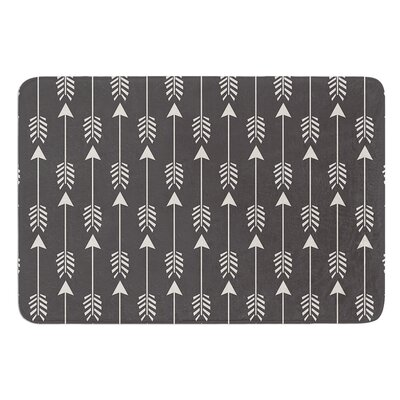 Tribal Arrows by Amanda Lane Bath Mat Size: 24 W x 36 L