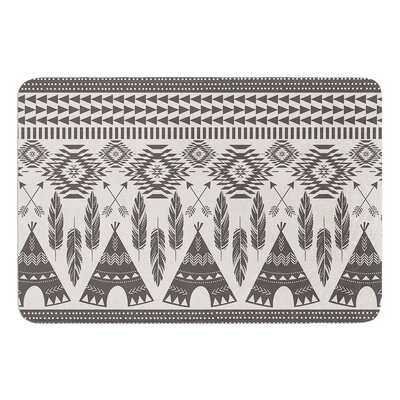 Native Roots by Amanda Lane Bath Mat Size: 24 W x 36 L
