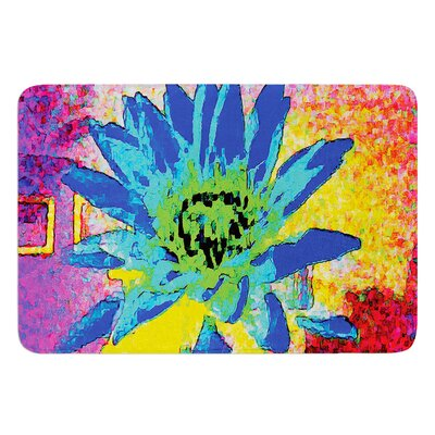 Wild Lotus by Anne LaBrie Bath Mat Size: 17W x 24L