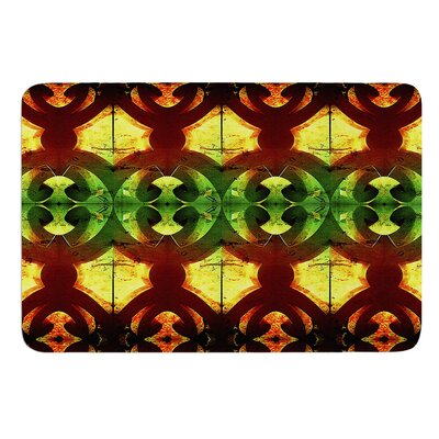 Tribal Marsala by Anne LaBrie Bath Mat Size: 24 W x 36 L