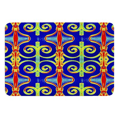 Swirl Away by Anne LaBrie Bath Mat Size: 17W x 24L