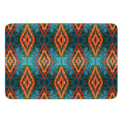 Diamond Sea by Anne LaBrie Bath Mat Size: 17W x 24L