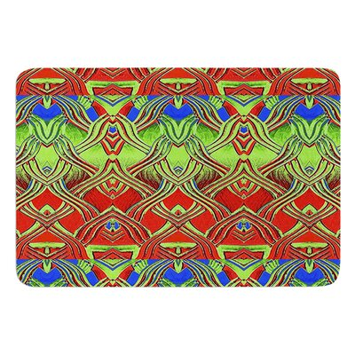 Mystic Flow by Anne LaBrie Bath Mat Size: 17W x 24L