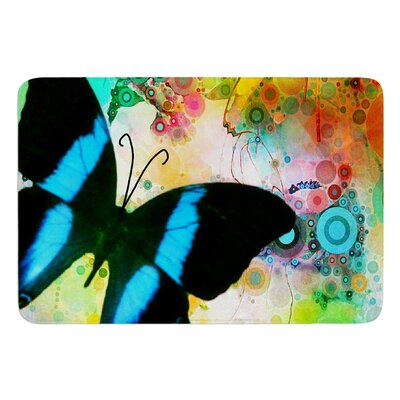 Colorful by alyZen Moonshadow Bath Mat Size: 17W x 24L
