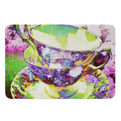 Mad Hatters T-Party II by alyZen Moonshadow Bath Mat Size: 17W x 24L