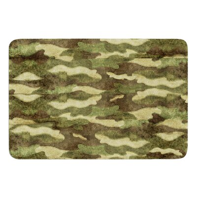 Dirty Camo by Bruce Stanfield Bath Mat