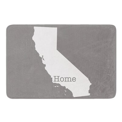 California Is Home by Bruce Stanfield Bath Mat