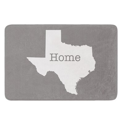 Texas Is Home by Bruce Stanfield Bath Mat