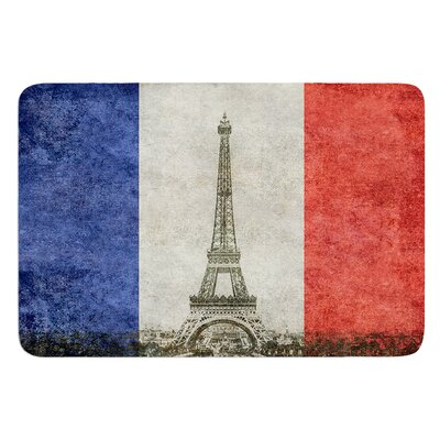 Vintage Paris by Bruce Stanfield Bath Mat