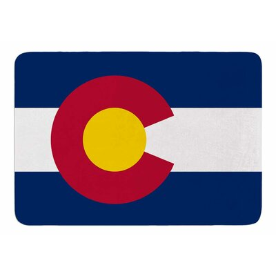Colorado State Flag by Bruce Stanfield Bath Mat