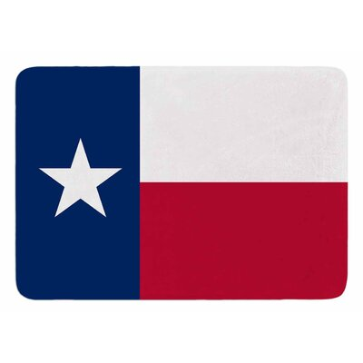 Texas Flag by Bruce Stanfield Bath Mat